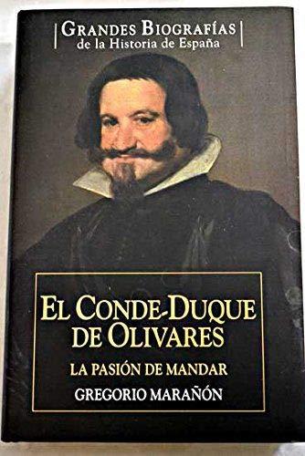 9788467452617: El Conde-Duque De Olivares