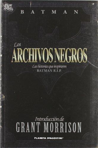 9788467485776: BATMAN: LOS ARCHIVOS NEGROS