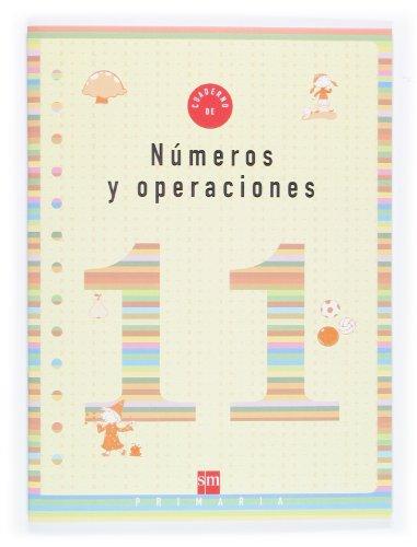 9788467500295: Cuaderno 11 de números y operaciones. 4 Primaria - 9788467500295