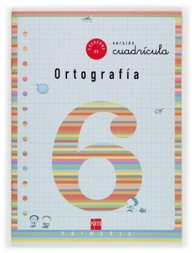 9788467501353: Cuaderno 6 de ortografía, Cuadrícula. 2 Primaria - 9788467501353