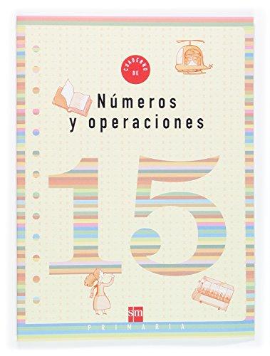 9788467505207: Cuaderno 15 de números y operaciones. 5 Primaria - 9788467505207