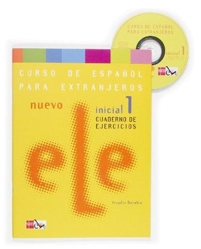 9788467509083: Nuevo Ele Inicial 1. Cuaderno de ejercicios