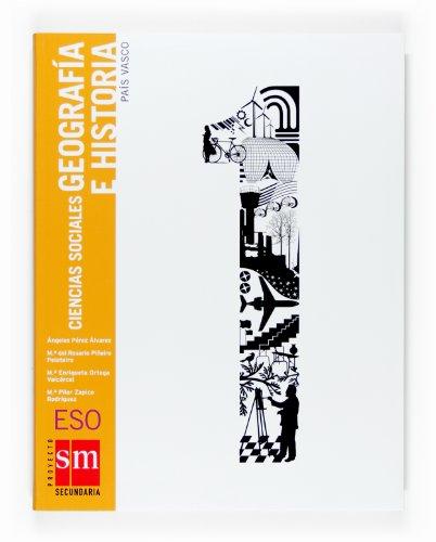 9788467510096: Ciencias sociales, geograf?a e historia. 1 ESO. Pa?s Vasco
