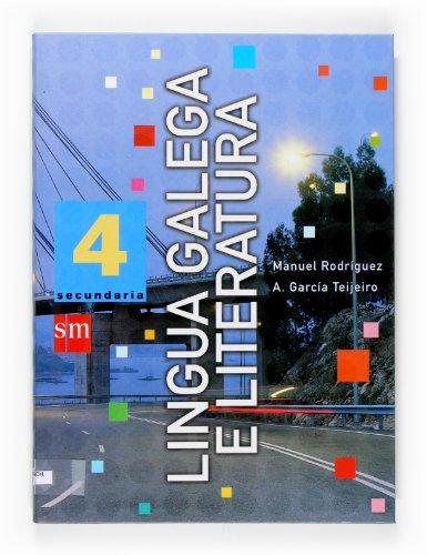 9788467510485: Lingua galega e literatura. 4 Secundaria