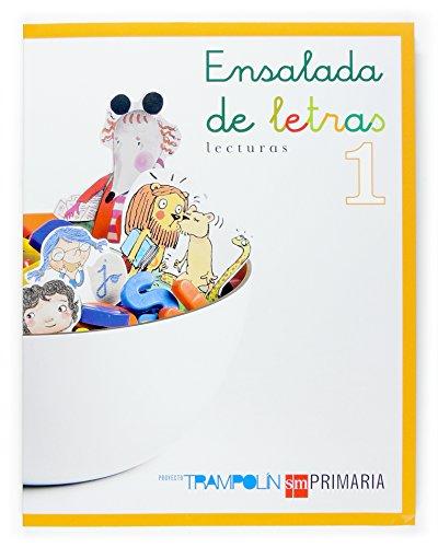 9788467511987: Ensalada de letras. Lecturas. 1 Primaria. Proyecto Trampolín