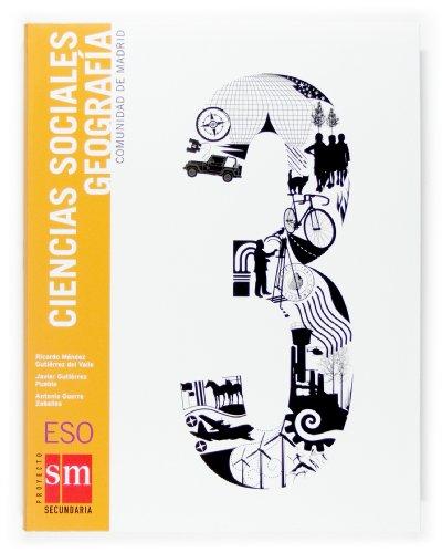 9788467513813: 3� E.S.O.-GEOGRAFIA 3 (MADRID) (2007) - CC.SOCIALES