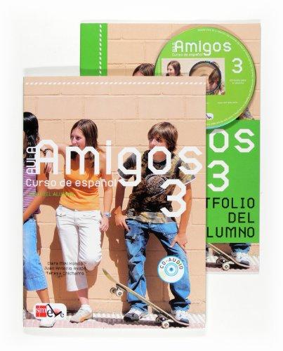 9788467514025: Aula Amigos Internacional: Pack Del Alumno (Libro + Portfolio) + CD 3 (Spanish Edition)