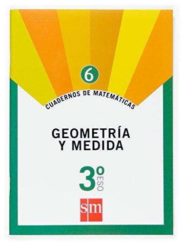 9788467515534: Cuaderno 6 de matemáticas. 3 ESO. Geometría y medida - 9788467515534