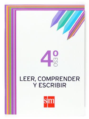 Leer, comprender y escribir 4ºESO Cuadernos de lengua - Bengoechea, Ángeles/Sánchez, Francisco J.