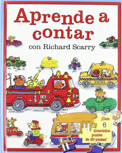 9788467516302: Aprendo a contar con richard scarry