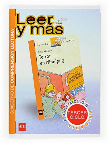 9788467517507: Terror en Winnipeg. Cuaderno de comprensión lectora [Tercer Ciclo] - 9788467517507
