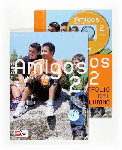 9788467521269: Aula Amigos Internacional: Pack Del Alumno (Libro + Portfolio) + CD 2 (Spanish Edition)