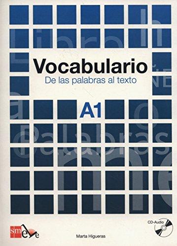 9788467521672: Vocabulario: de las palabras al texto. A1 (Spanish Edition)