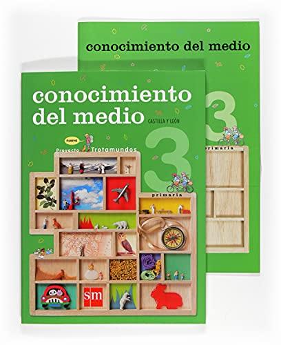 9788467523409: Conocimiento del medio. 3 Primaria. Nuevo proyecto Trotamundos. Castilla y León - 9788467523409