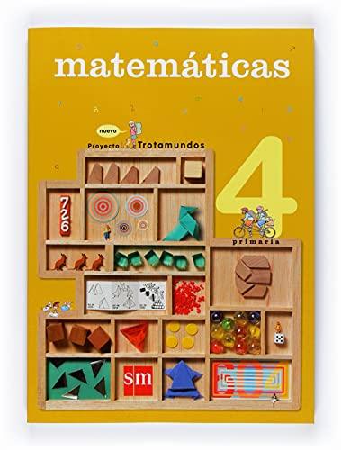 9788467523621: Matemáticas. 4 Primaria. Nuevo Trotamundos