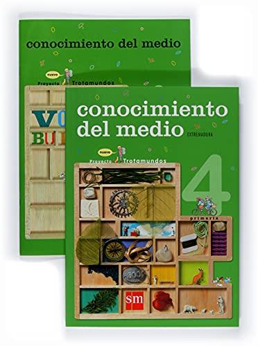 9788467523782: Conocimiento del medio. 4 Primaria. Nuevo proyecto Trotamundos. Extremadura - 9788467523782