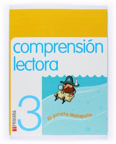 9788467525915: Comprensión lectora: El pirata Malapata. 3 Primaria - 9788467525915