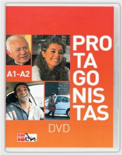 9788467527131: Protagonistas A1-A2. DVD + Guía de explotación didáctica [Internacional]