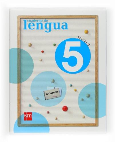 9788467533583: Cuaderno de Lengua. 5 Primaria, 1 Trimestre