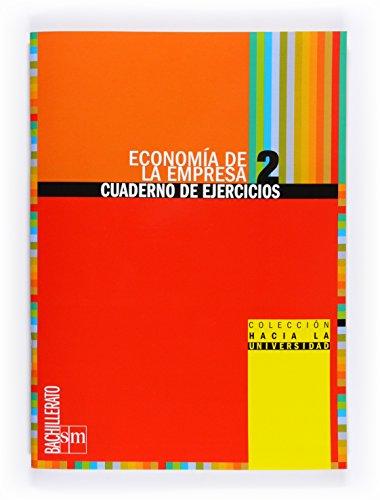 9788467539851: Econom�a de la empresa: cuaderno de ejercicios. 2 Bachillerato