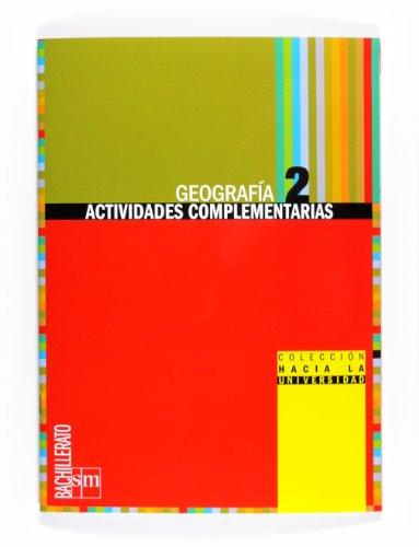 9788467539868: Geografía. Actividades complementarias. 2º Bachillerato