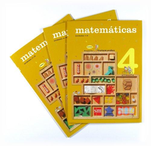 9788467541526: Matemáticas. 4 Primaria. Nuevo proyecto Trotamundos. Trimestres - 9788467541526