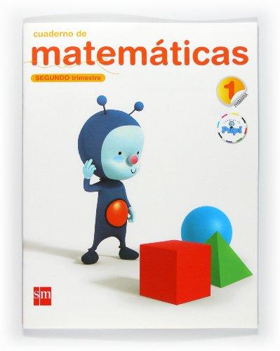 9788467545203: Cuaderno de matemáticas. 1 Primaria, 2 Trimestre. Conecta con Pupi