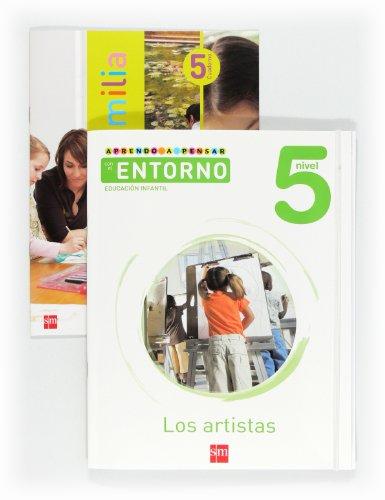 9788467545531: Aprendo a pensar con el entorno: Los artistas. Nivel 5. Educación Infantil - 9788467545531