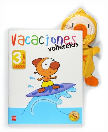 9788467545630: Volteretas, vacaciones, 3 años - 9788467545630