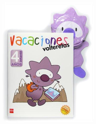 9788467545647: Vacaciones, volteretas, 4 años - 9788467545647