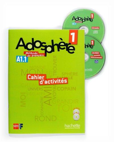 9788467545807: Méthode de français 1. Adosphère. Cahier d'activités