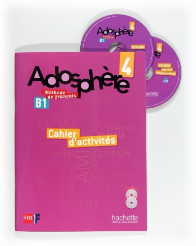 9788467545838: Méthode de français 4. Adosphère. Cahier d'activités - 9788467545838