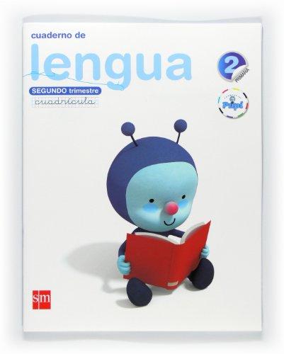 9788467546330: Cuaderno de lengua, Cuadrícula. 2 Primaria, 2 Trimestre. Conecta con Pupi