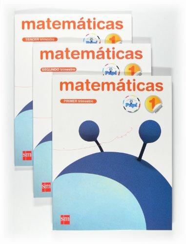 9788467546453: Matemáticas. 1 Primaria. Conecta con Pupi. Trimestres - 9788467546453