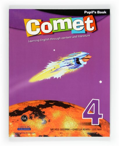 9788467547078: Comet 4. Primary. Pupil's Book - 9788467547078