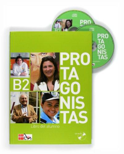 9788467547191: Protagonistas: Libro Del Alumno + CD (B2) (Spanish Edition)