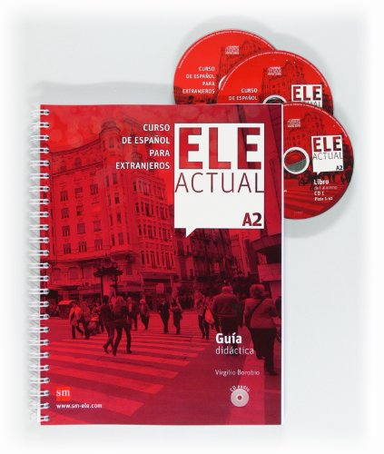 9788467547498: Ele Actual: Guia Didactica + Cds A2 (Spanish Edition)