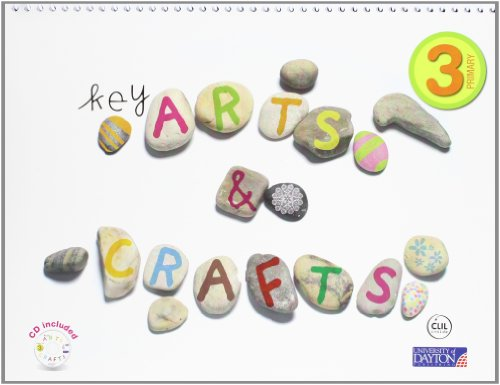 9788467547702: Arts and Crafts. 3 Primary. Key