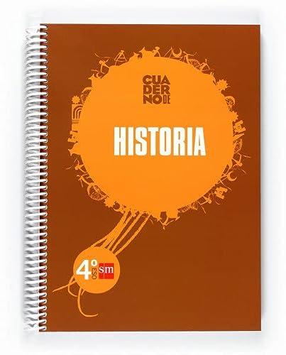 9788467548525: Ciencias sociales, historia, 4 ESO. Cuaderno