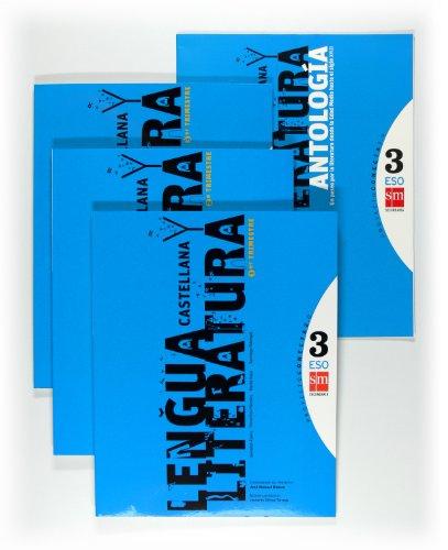 9788467549225: Lengua castellana y literatura. 3 ESO. Conecta 2.0. Trimestres