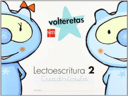9788467549836: Lectoescritura 2, Cuadrícula. Volteretas [Espiral] - 9788467549836