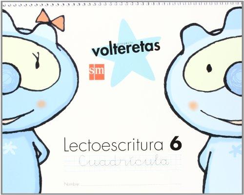 9788467549874: Lectoescritura 6, Cuadrícula. Volteretas [Espiral] - 9788467549874