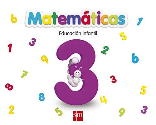 9788467551822: Matemáticas 3, Educación Infantil