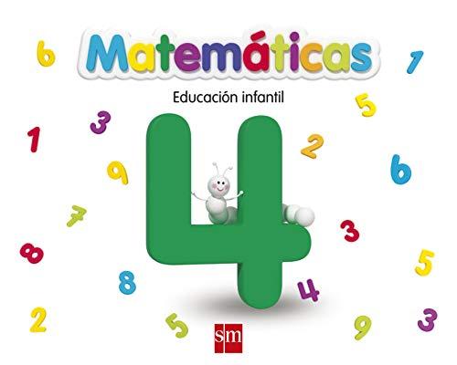 9788467551839: Matemáticas 4. Educación Infantil - 9788467551839