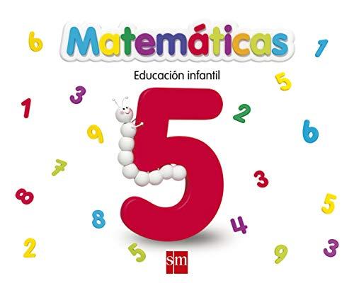 9788467551846: Matemáticas 5. Infantil