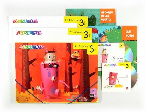 9788467554434: Colorines, Educación Infantil, 3 años. 3 trimestre