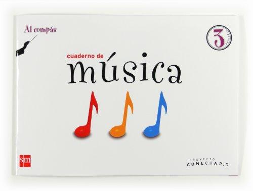 9788467554632: Cuaderno de música, Al Compás. 3 Primaria. Conecta 2.0 - 9788467554632