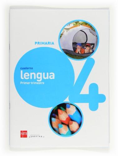 9788467554809: Cuaderno de lengua. 4 Primaria, 1 Trimestre. Conecta 2.0 - 9788467554809