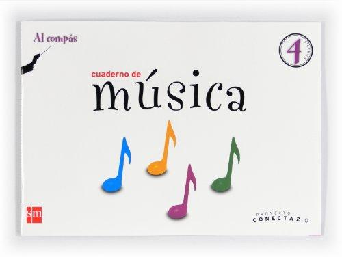 9788467555684: Conecta 2.0, Al Compás, música, 4 Educación Primaria. Cuaderno