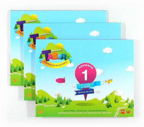 9788467555806: Tabor 1, 5 y 9: Despertar Religioso en Educación Infantil - Pack de 3 libros - 9788467555806